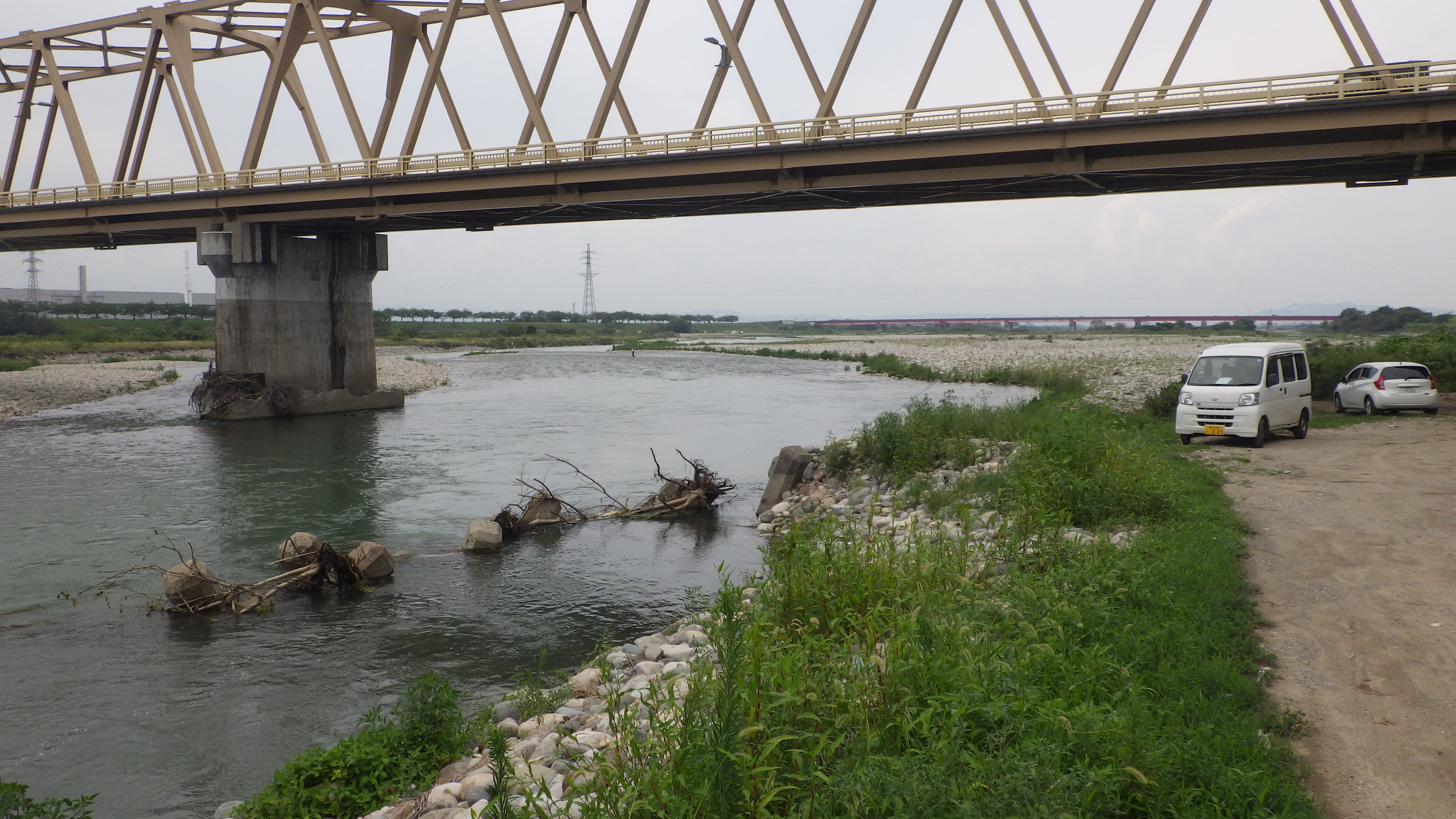 今日の庄川