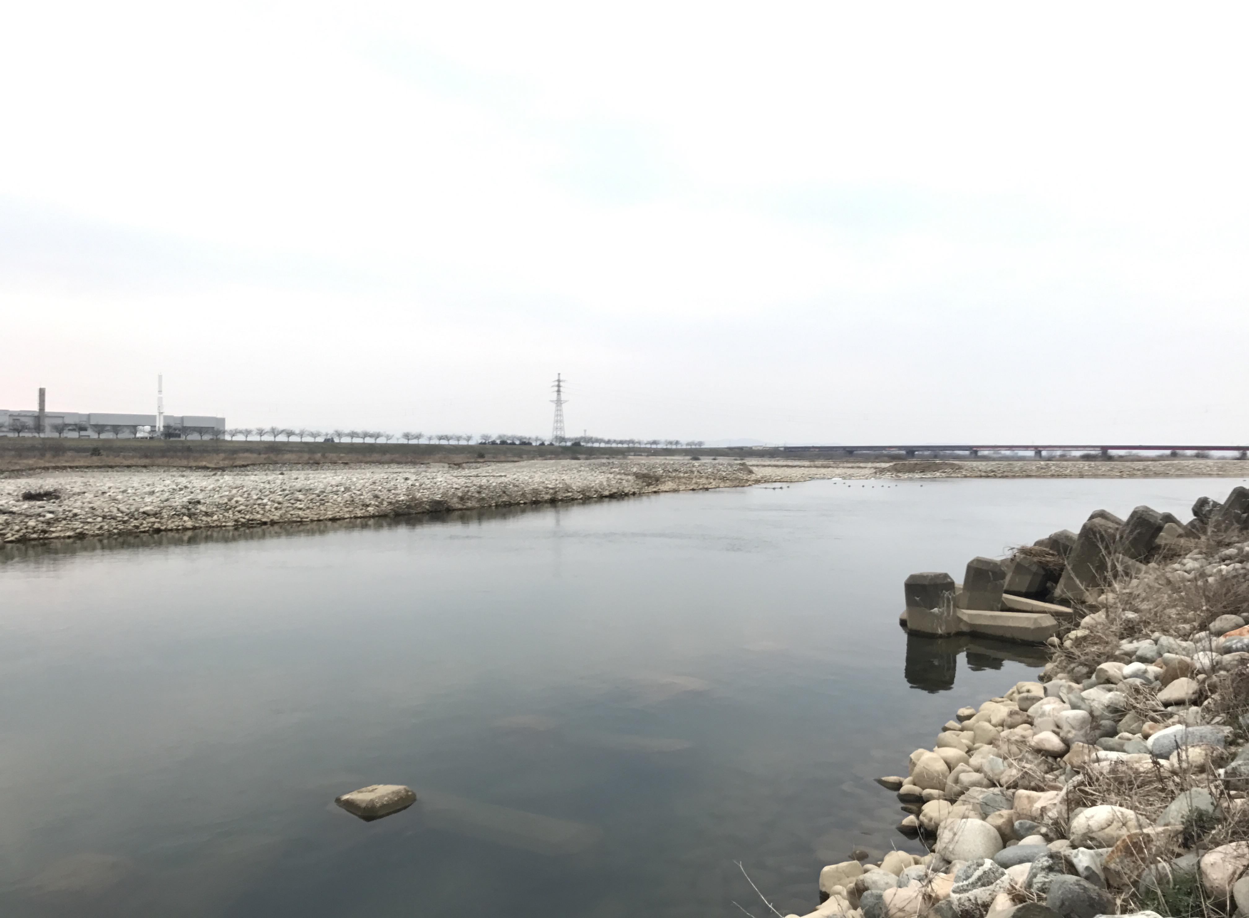 川の様子 3月29日�B