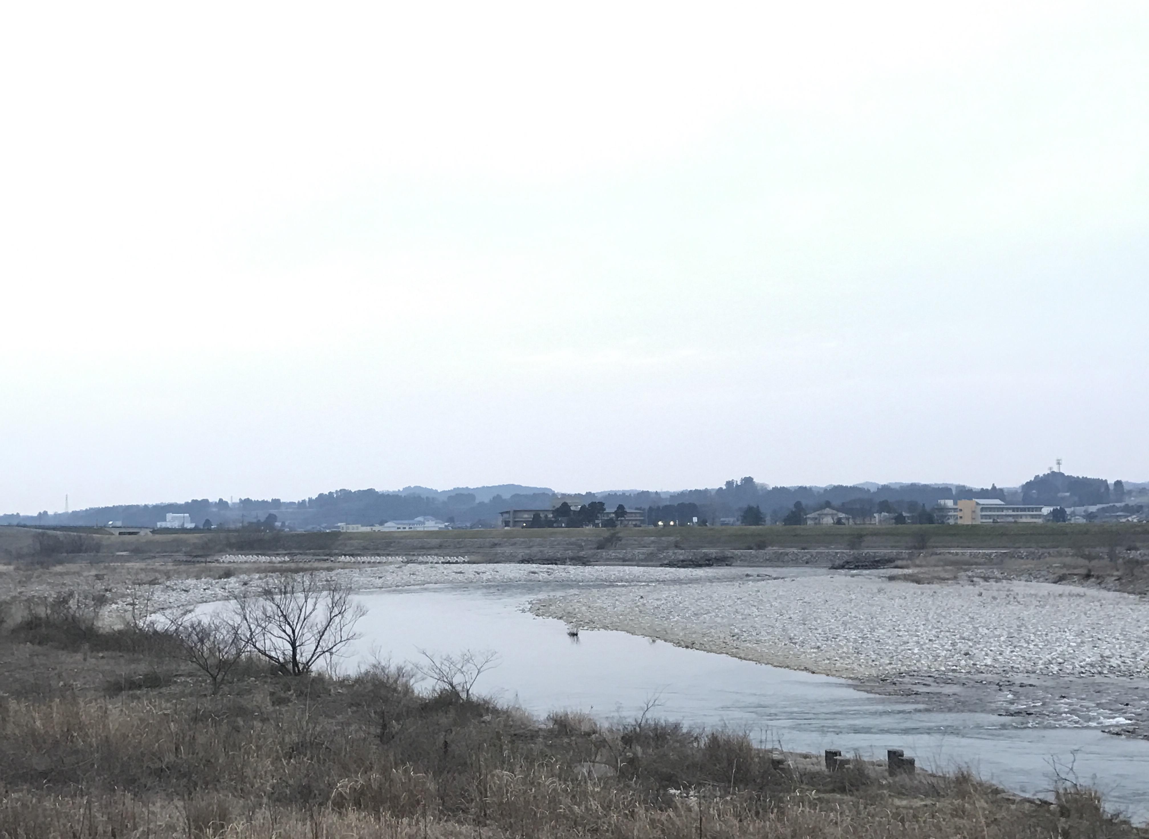 川の様子 3月29日�A