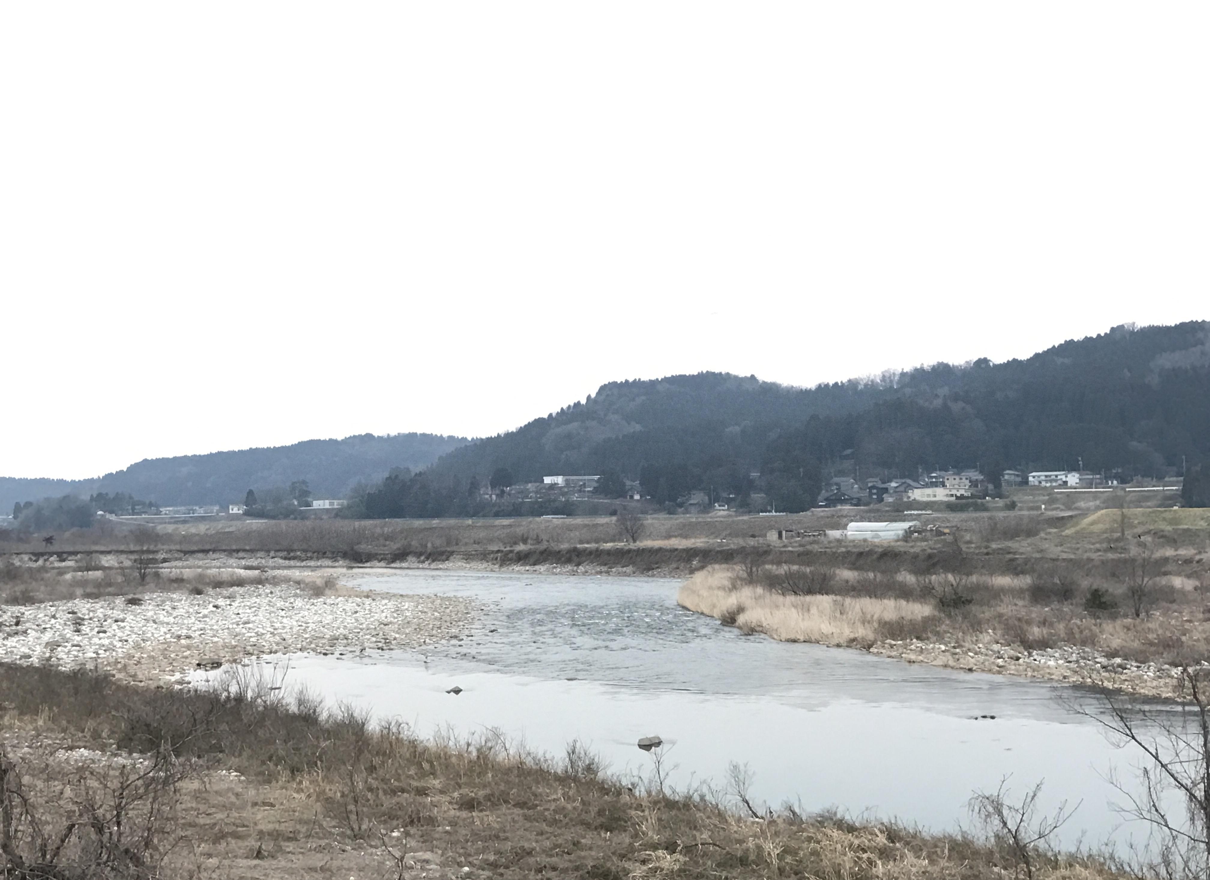 川の様子 3月29日
