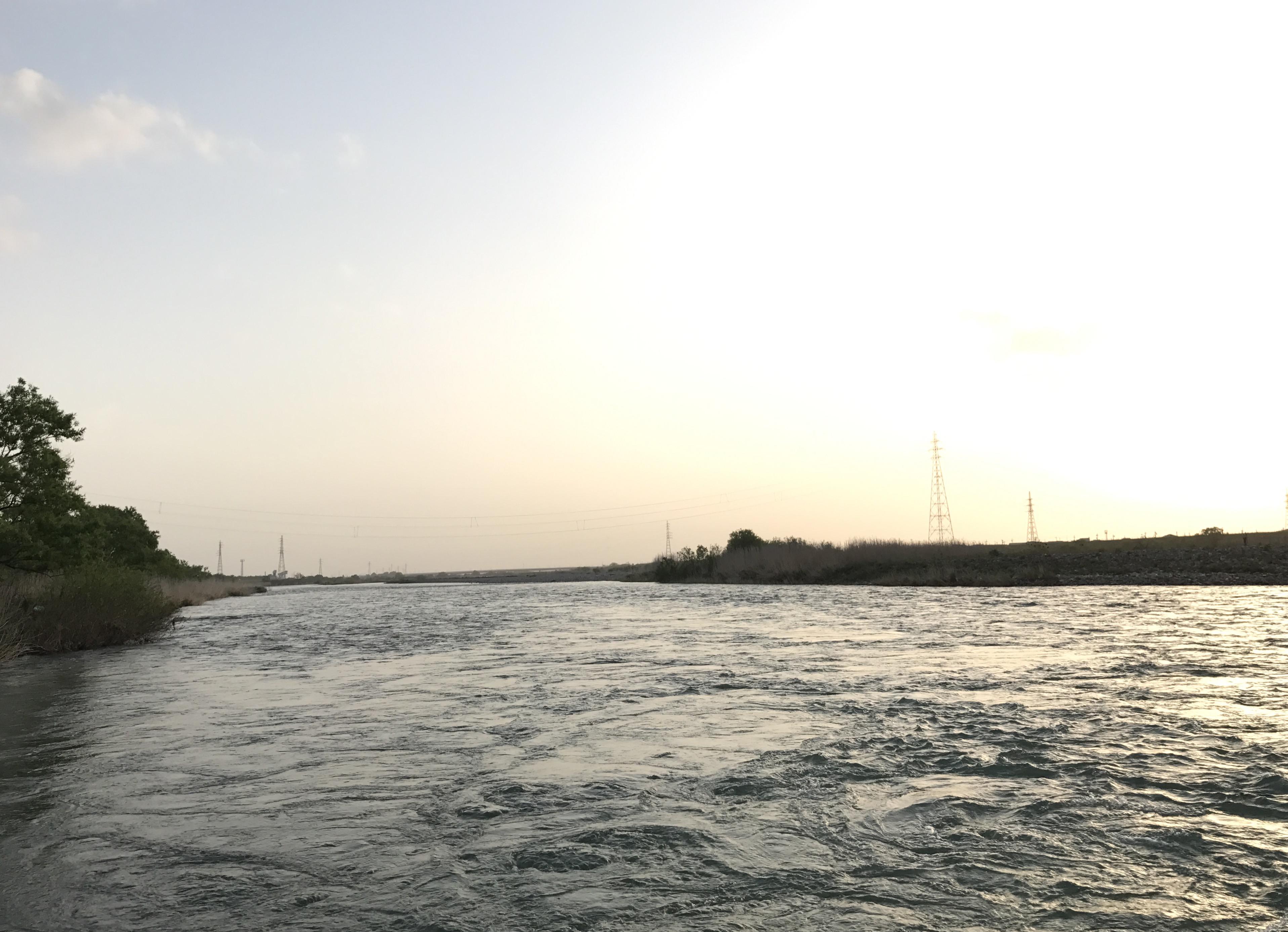 川の様子 GW最終日
