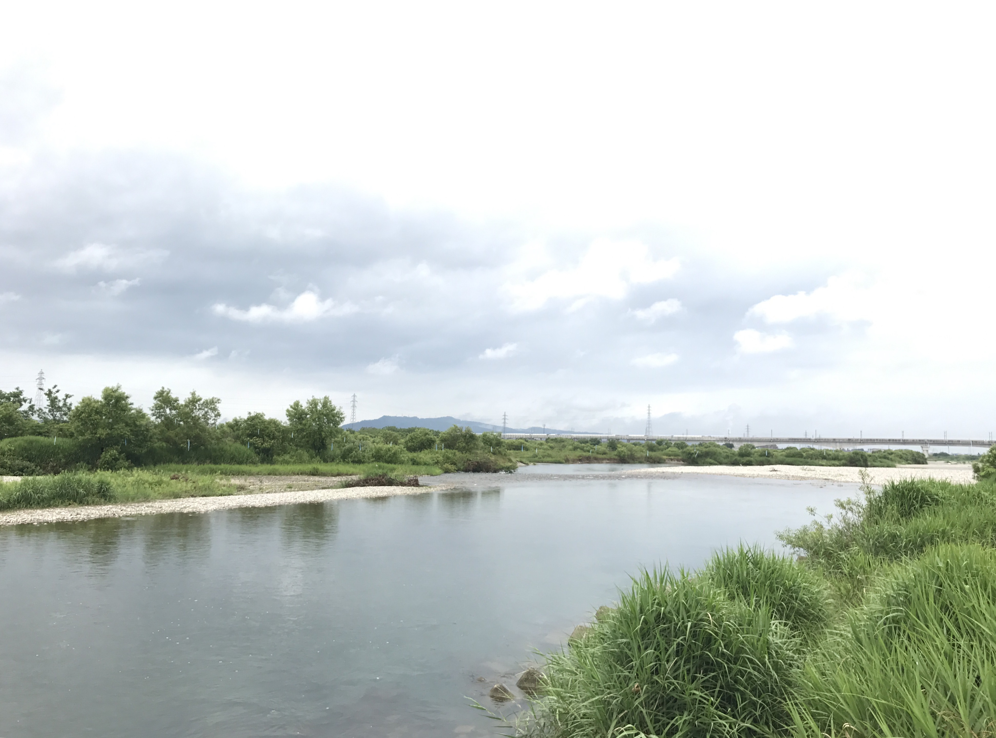 川の様子 増水のお知らせ