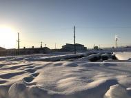 雪はひと段落