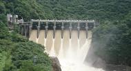 庄川水系ダム放水状況
